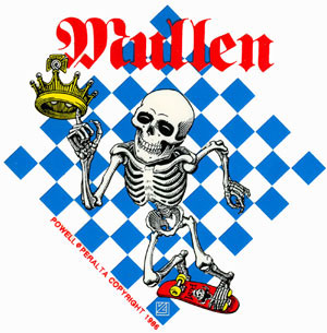 Powell Peralta Mullen Sticker