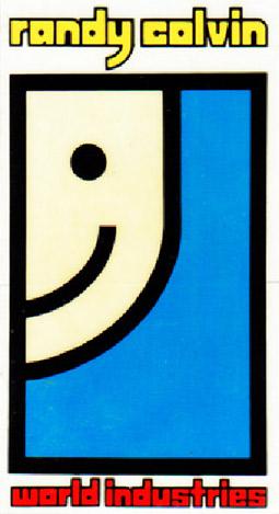 Randy Colvin Street Skateboard Sticker Goodwill